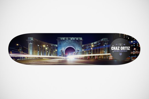 "Brian Kelley for Zoo York ""The Streets of New York"" Skateboard Decks"