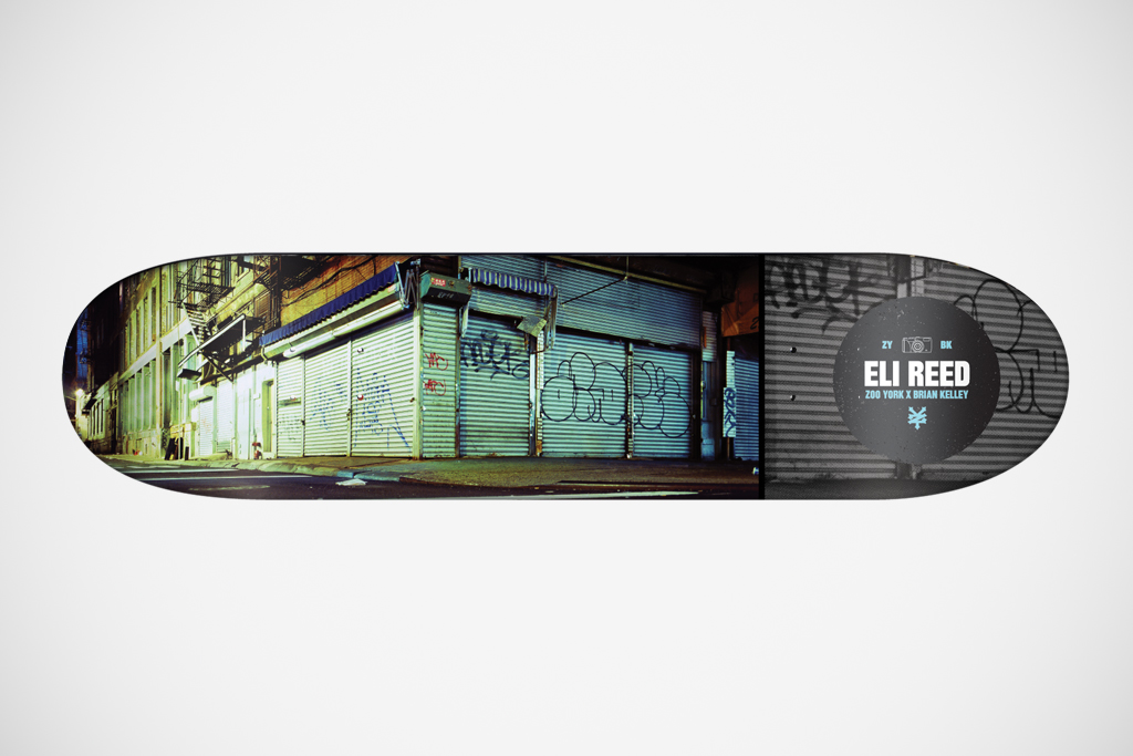 brian kelley for zoo york the streets of new york skateboard decks