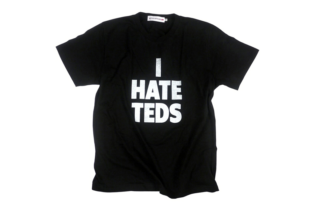 "British Remains ""I HATE"" T-Shirt Collection"