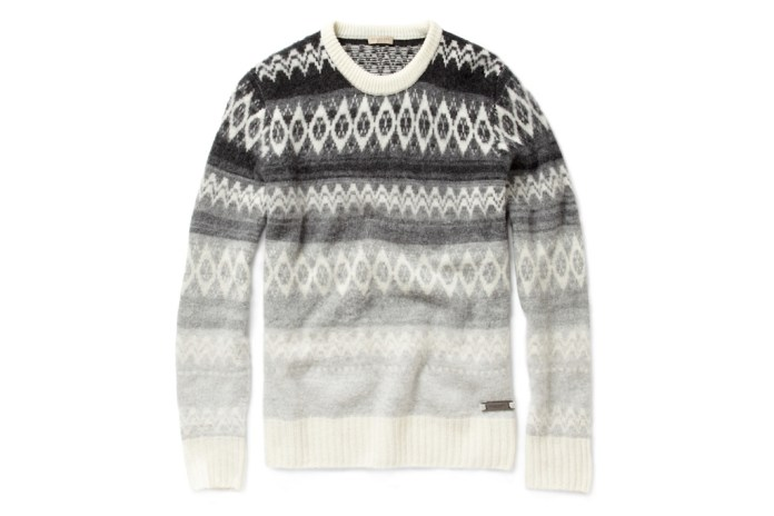 Burberry Brit Fair Isle Wool-Blend Sweater