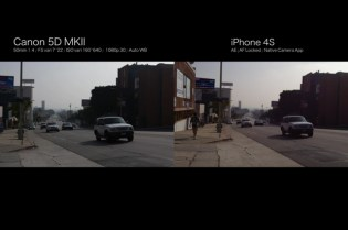 Canon 5D MKII vs. iPhone 4S: Side by Side Comparison