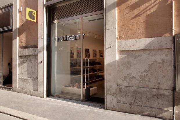 Carhartt WIP Rome Store Reopening