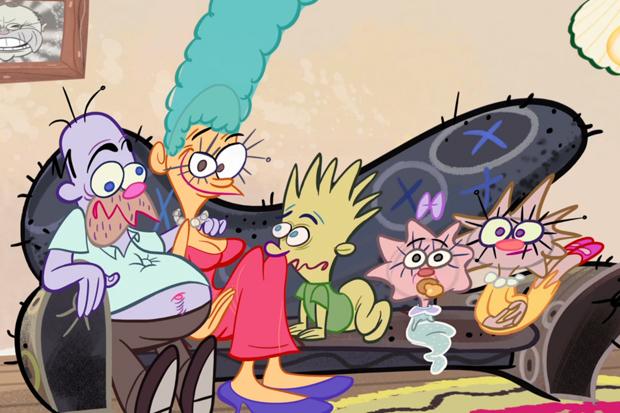 Cartoonbrew: John Kricfalusi's 'Simpsons' Opening