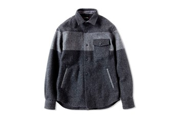 CASH CA CPO MELTON SHIRT JACKET