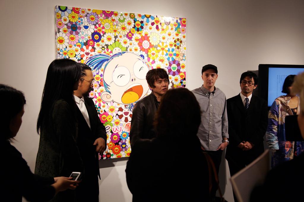 Christie's x Takashi Murakami Tohoku-Pacific Earthquake Benefit Auction Preview Recap
