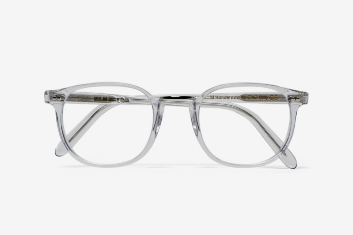 Cutler & Gross Clear Optical Frames