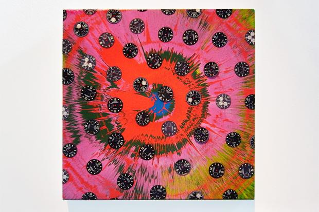 "Damien Hirst ""Beautiful Sunflower Panerai"" Paintings"