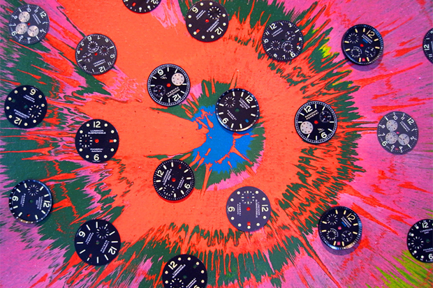 "Damien Hirst ""Beautiful Sunflower Panerai"" Paintings"