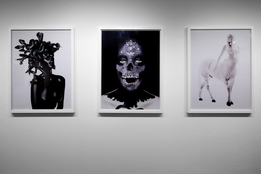 "Damien Hirst & RANKIN ""Myths, Monsters and Legends"" Exhibition @ RANKIN Gallery Recap"