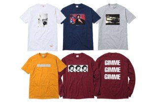 David Lynch for Supreme Capsule Collection