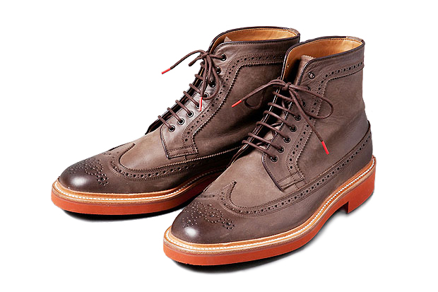 Deluxe LUDE ROCKER Brogue Boot