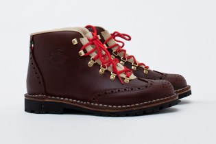 Diemme New Tiroli Wing Grain Leather Boot