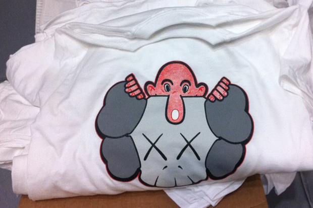 Eric Elms x KAWS T-Shirt Preview