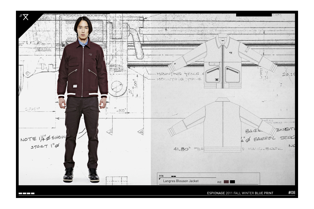 espionage 2011 fallwinter lookbook