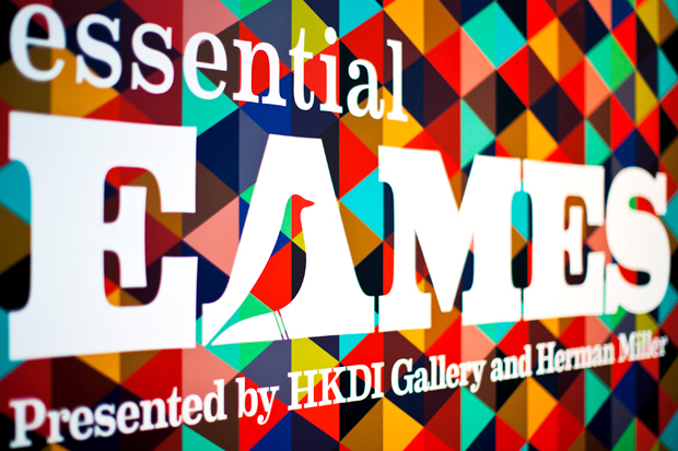"""""""Essential Eames"""" Exhibition @ HKDI Gallery"""