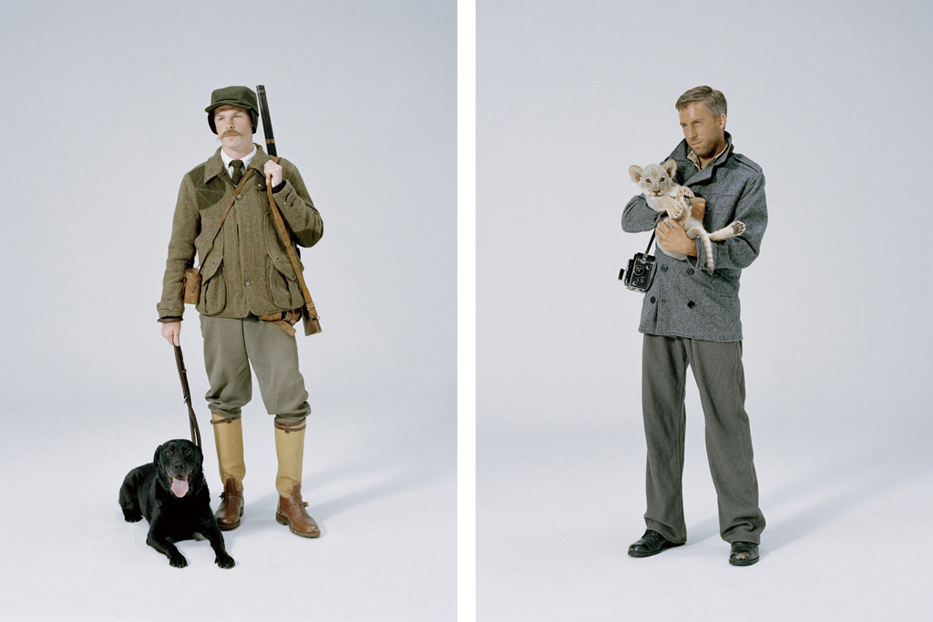 "Filson Japan 2011 Fall/Winter ""The Ballad of Portaits"" Lookbook"