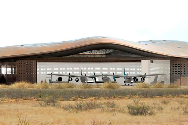 foster partners spaceport america