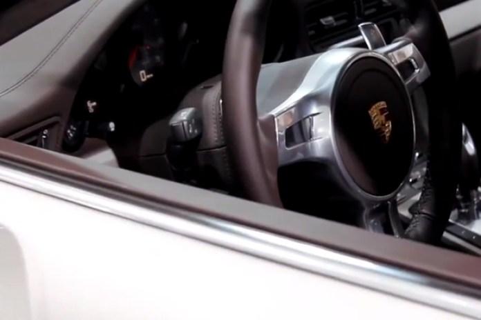 Frankfurt Motor Show: Interior Design of the New Porsche 911