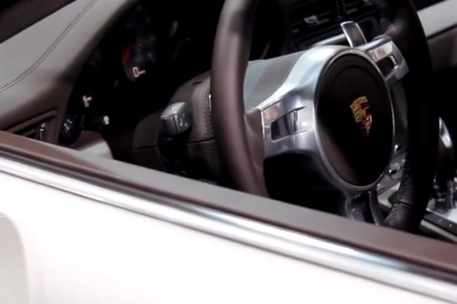 Frankfurt Motor Show: Interior Design of the New Porsche 911