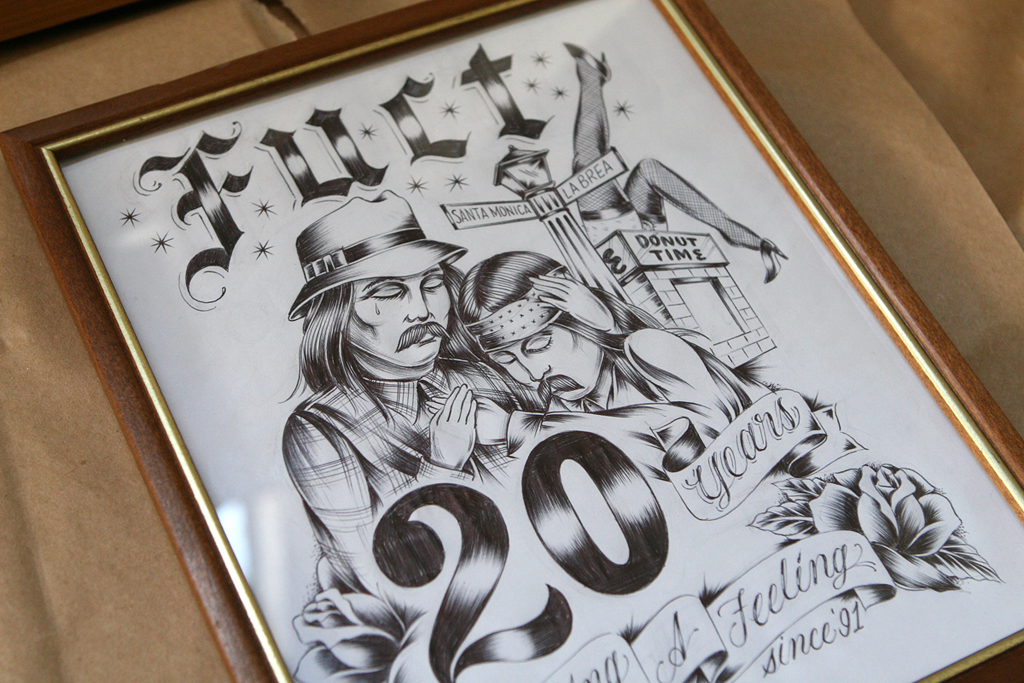FUCT 20 Year Visual Exhibition Preview