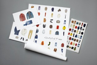 GANT Rugger 2011 Fall/Winter Illustrations by Andrew Mashanov