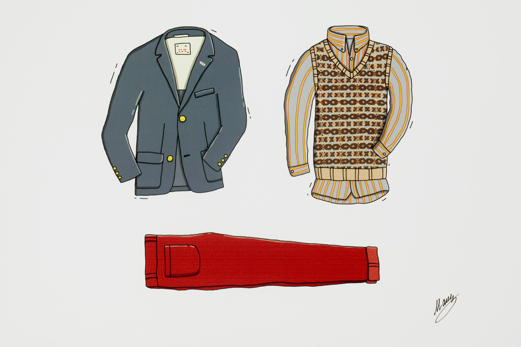 gant rugger 2011 fallwinter illustrations by andrew mashanov