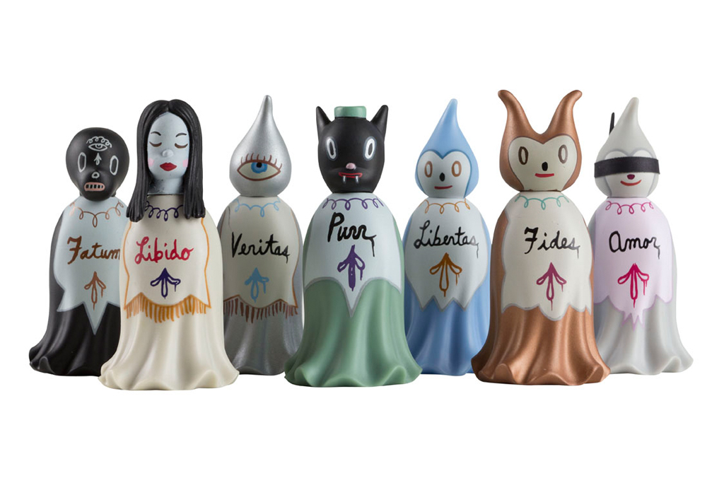 gary baseman tobys secret society mini series