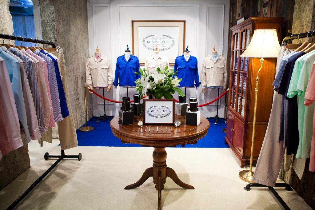 Masaya Kuroki: Kitsuné & CLOT in Hong Kong