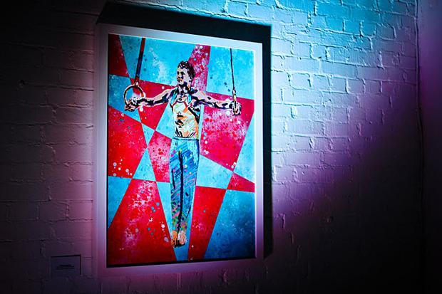 "Goldie ""ATHLETICIZM"" Exhibition @ Underdog Gallery Recap"