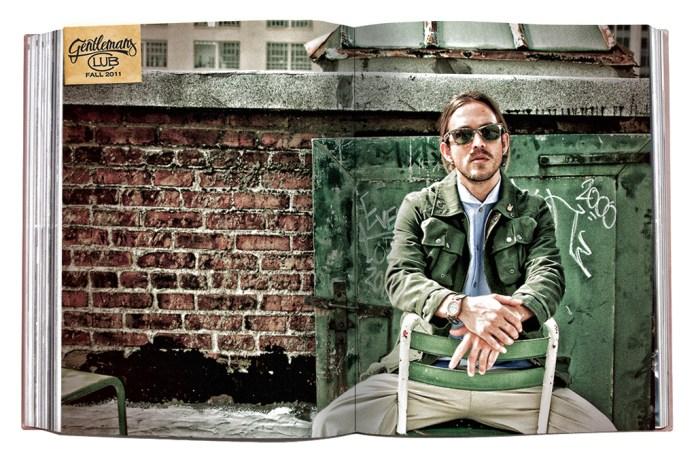 """GPPR 2011 Fall """"Gentlemen's Club"""" Collection Lookbook"""