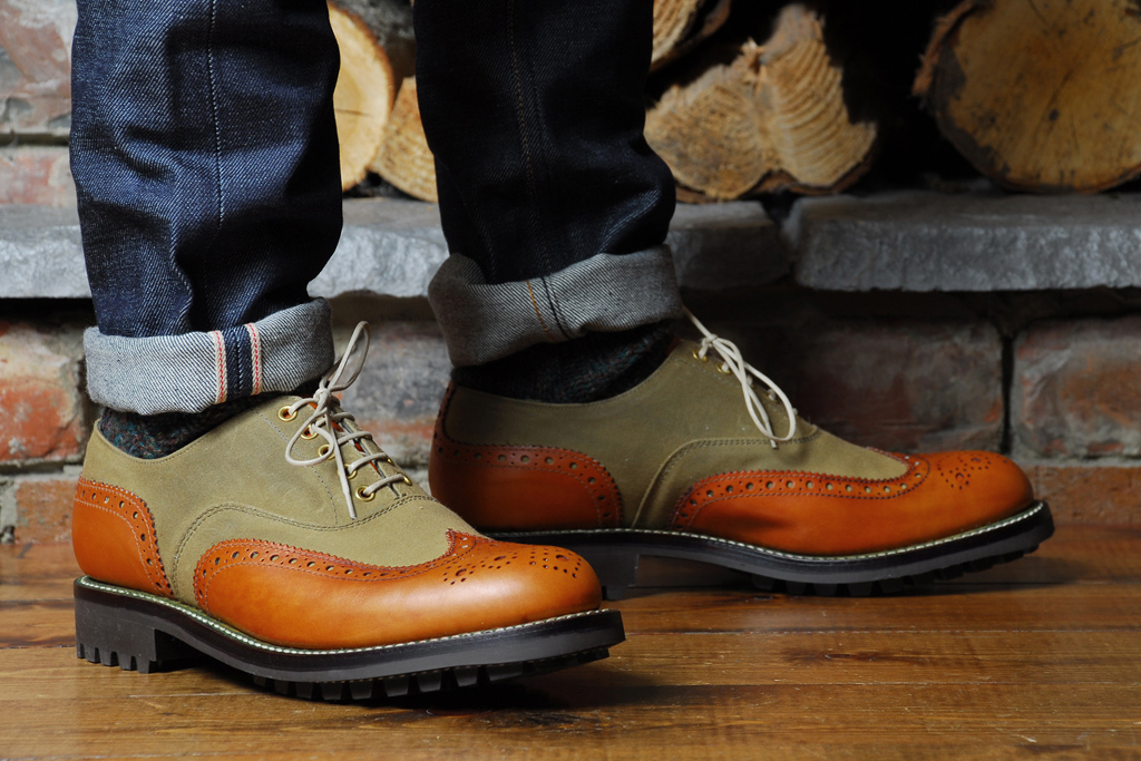 Barbour x Grenson Marske Brogue Collection