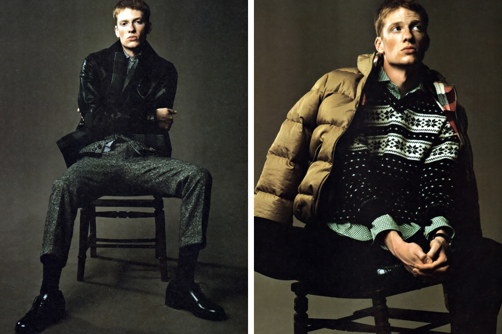 GRIND Magazine: Junya Watanabe COMME des GARCONS MAN 2011 Fall/Winter Editorial