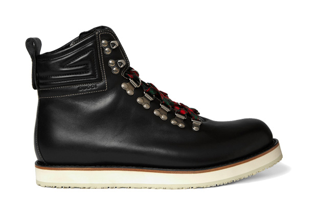 Gucci Leather Mountaineering Boots