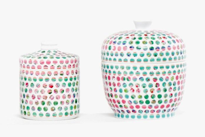 Hans Tan Studio for FARM Spotted Nyonya Porcelain Vessel