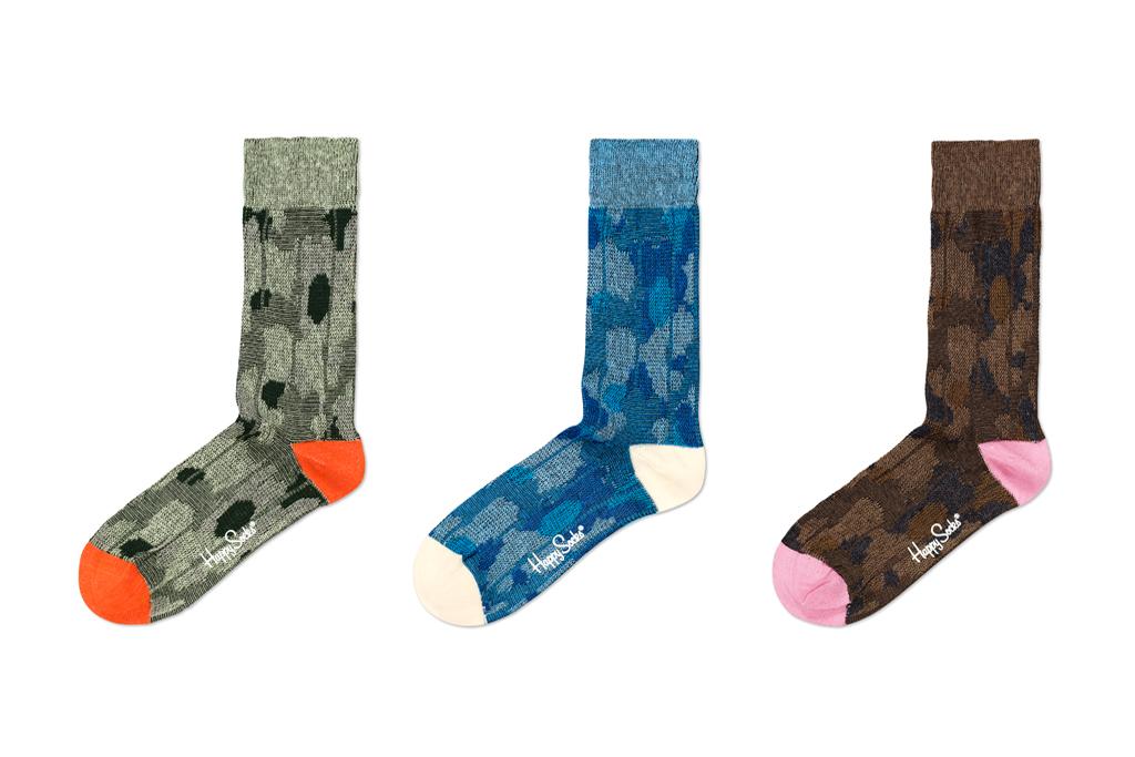 Happy Socks 2011 Woven Camoflauge Collection