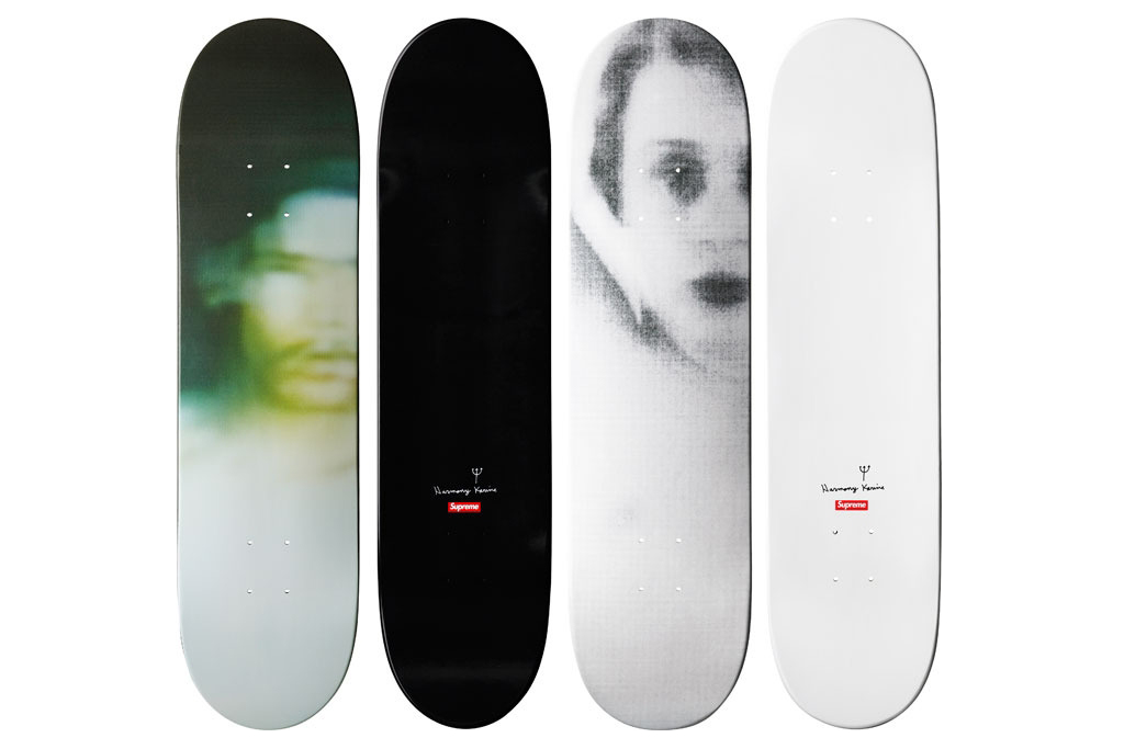 Harmony Korine for Supreme Skateboards