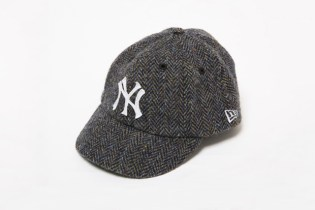 Harris Tweed x New Era 8-Panel BB Cap Classic