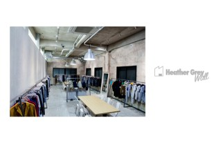Heather Grey Wall Store Opening