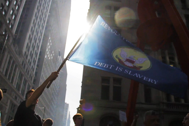 Hot Chicks at Occupy Wall Street: A Romantic Video Salute