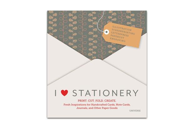 i heart stationery print cut fold create book