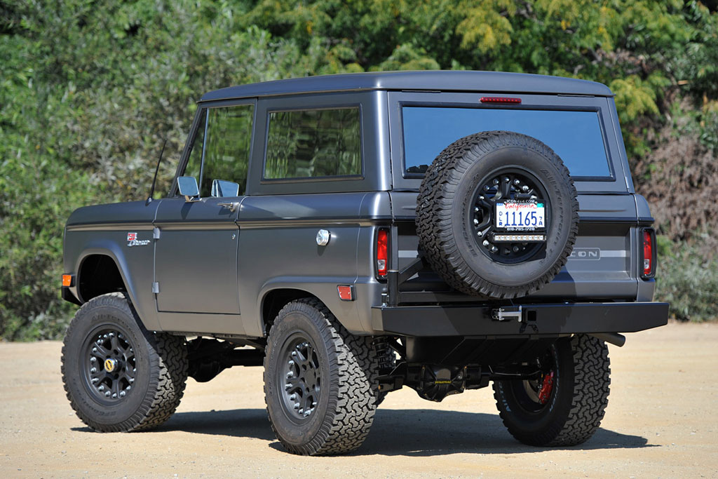 Iconic 4x4 Ford Bronco