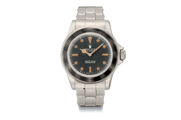 James Bond's Rolex 5513 Submariner on Auction