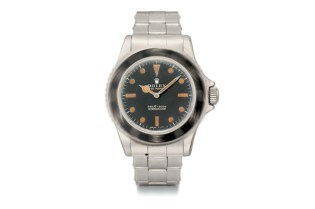 James Bond's Rolex 5513 Submariner on Auction
