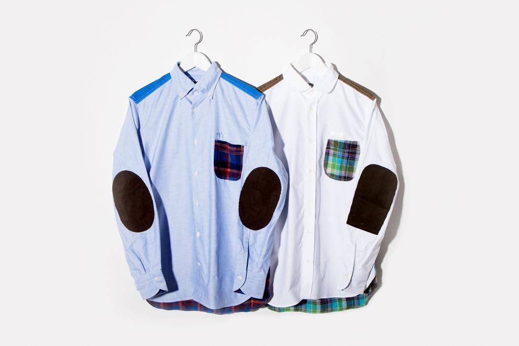 JUNYA WATANABE eYe COMME des GARCONS Patchwork Shirts