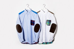 JUNYA WATANABE eYe COMME des GARCONS Patchwork Shirts
