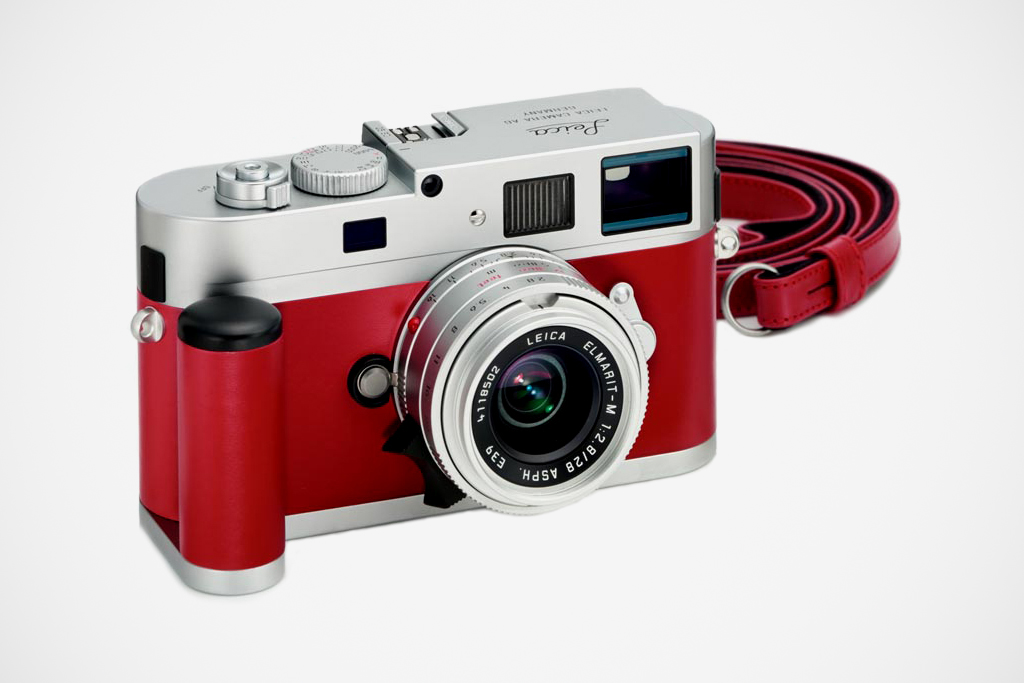 leica m9 p red leather edition