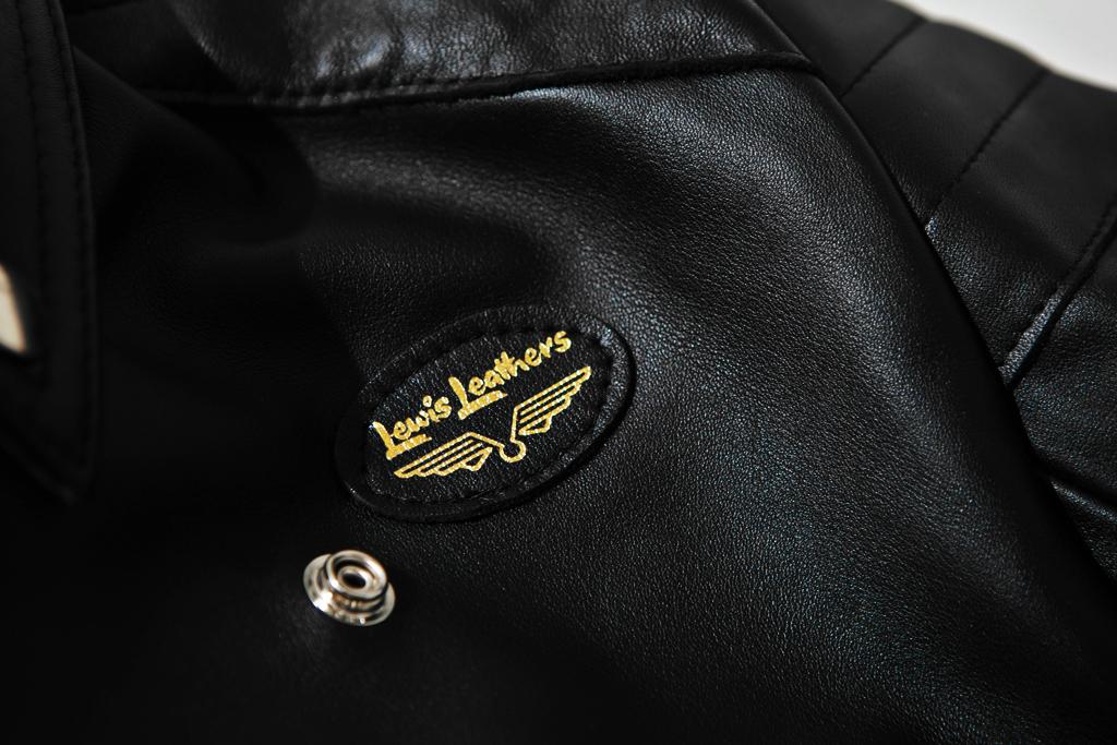 "Lewis Leathers ""Europa"" Leather Jacket"