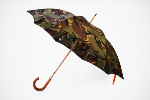 London Undercover City Gent British Woodland Camouflage Umbrella