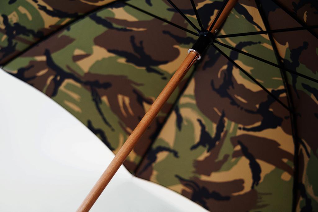 London Undercover City Gent British Woodland Camouflage Umbrella