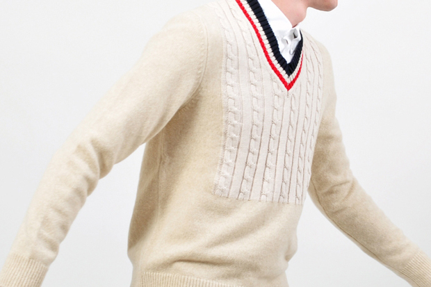Maison Martin Margiela Cable Knit Sweater